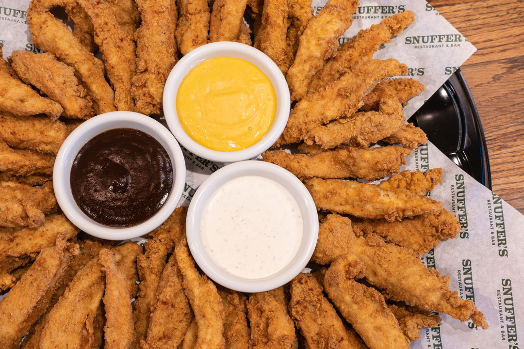 Snuffers Catering Hand Battered Chicken Strips Platter