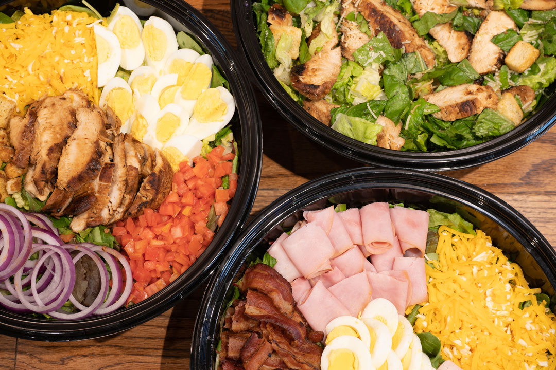 Snuffers Catering Salad Bowls